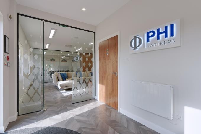 Industrial Style Glass Partitioning | IPS Interiors